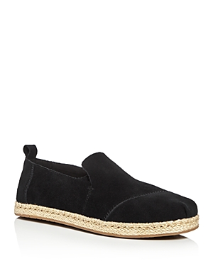 Toms Suede Deconstructed Alpargata Slip-On