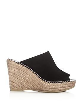 Andre Assous - Women's Cici Platform Wedge Espadrille Slide Sandals
