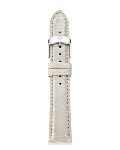 MICHELE Metallic Leather Watch Strap, 16mm - Bloomingdale's_0