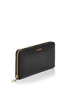 Furla - Babylon Zip Around Extra Large Leather Wallet