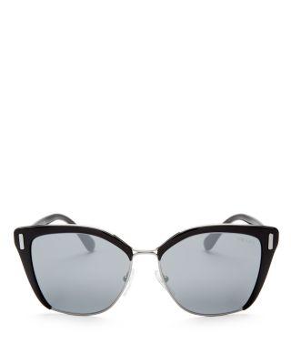08dfe38d5fca ... promo code for prada womens mirrored cat eye sunglasses 55mm  bloomingdales 2f299 04366