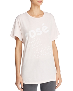Wildfox Manchester Rose All Day Graphic Tee