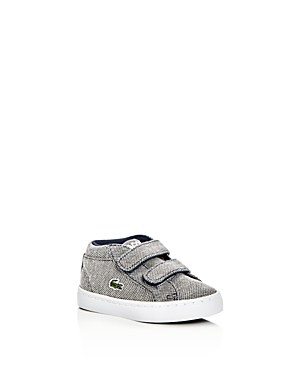 Lacoste Boys' Straightset Knit Chukka Sneakers - Walker, Toddler