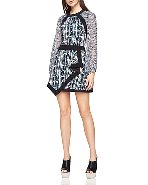 Bcbgmaxazria Tallulah Abstract-Print Dress
