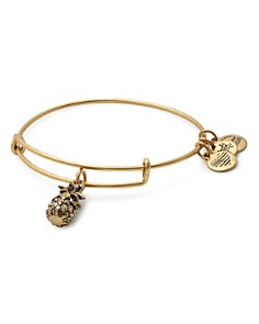 Alex and Ani - Pineapple Expandable Wire Bangle