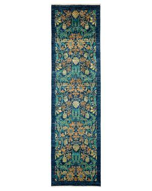 Solo Rugs Arts and Crafts Runner Rug, 2'8 x 9'7