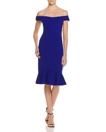 JS Collections - Off-the-Shoulder Dress