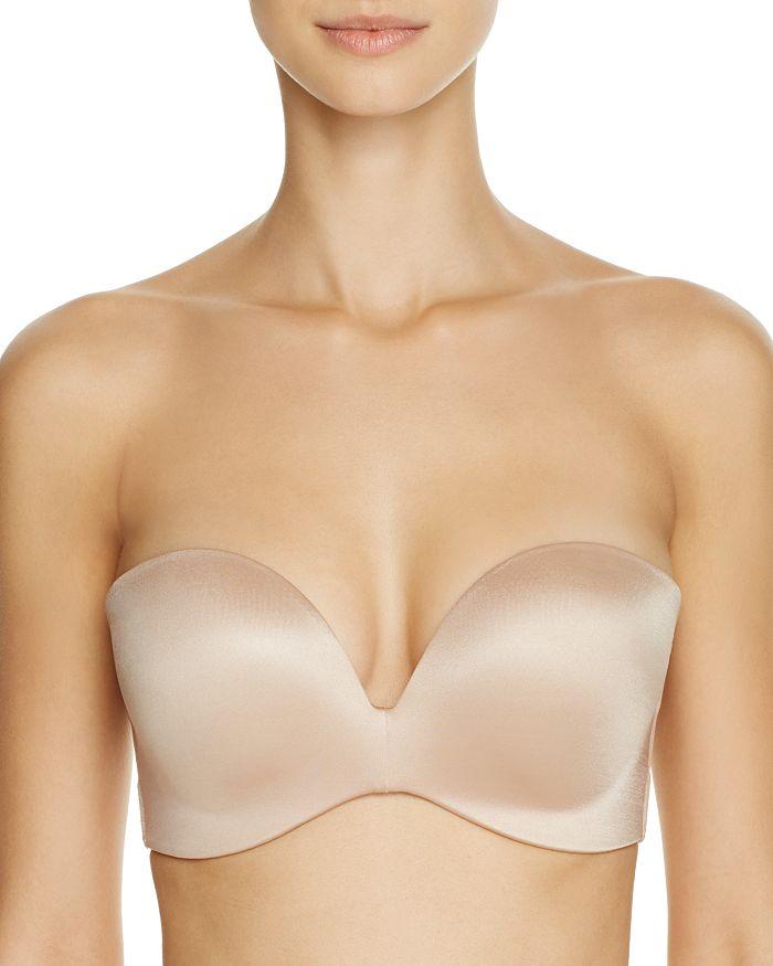 Fine Lines Refined Wireless Strapless Bra In Nude
