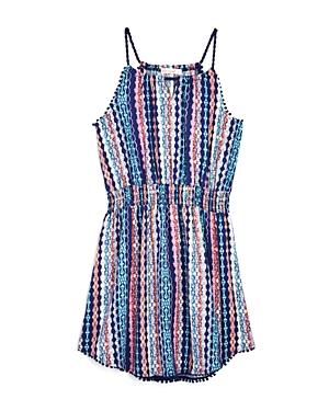 Ella Moss Girls' Jaya Printed Dress - Big Kid