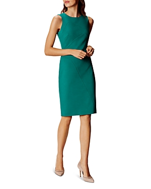 Karen Millen Seam-Detail Pencil Dress