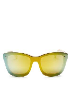 3.1 Phillip Lim Mirrored Square Sunglasses, 56mm