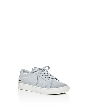 Lacoste Boys' L.12.12 Pique Knit Lace Up Sneakers - Toddler, Little Kid