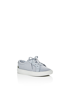 Lacoste Boys' L.12.12 Pique Knit Lace Up Sneakers - Walker, Toddler