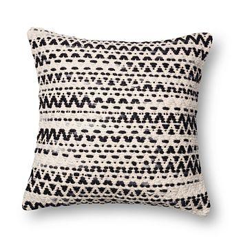 "Loloi - Abstract Decorative Pillow, 22"" x 22"""