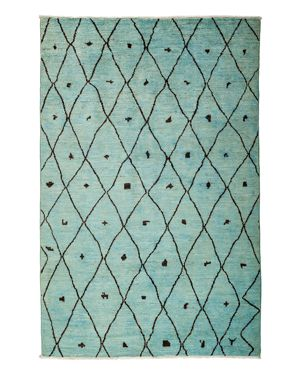 Solo Rugs Moroccan Area Rug, 5'10 x 9'