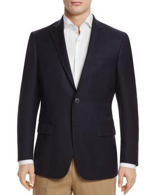 HART SCHAFFNER MARX New York Classic Fit Wool Blend Blazer in Navy