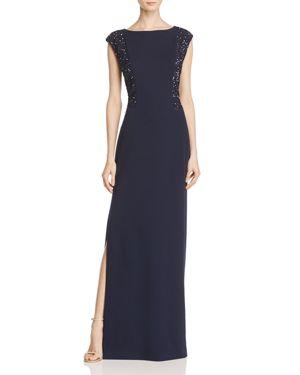 Aidan Mattox Embellished Gown