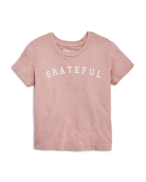 Spiritual Gangster Girls' Grateful Tee - Little Kid