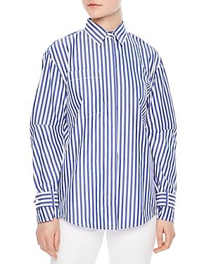 Sandro Alive Striped Shirt