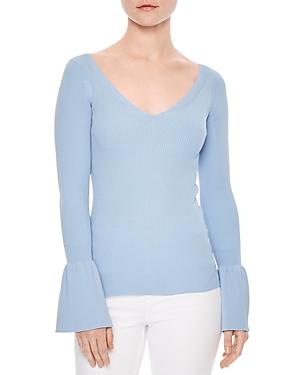 Sandro Malana Bell-Sleeve Sweater