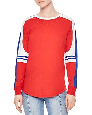 Sandro Story Color-Block Tee