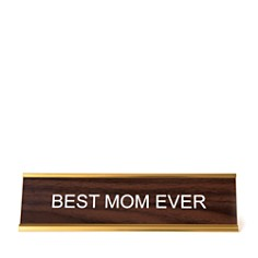 He Said She Said Best Mom Ever Nameplate - Bloomingdale's_0