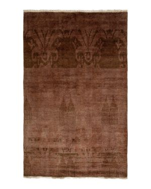 Moroccan Collection Oriental Rug, 4' x 6'3