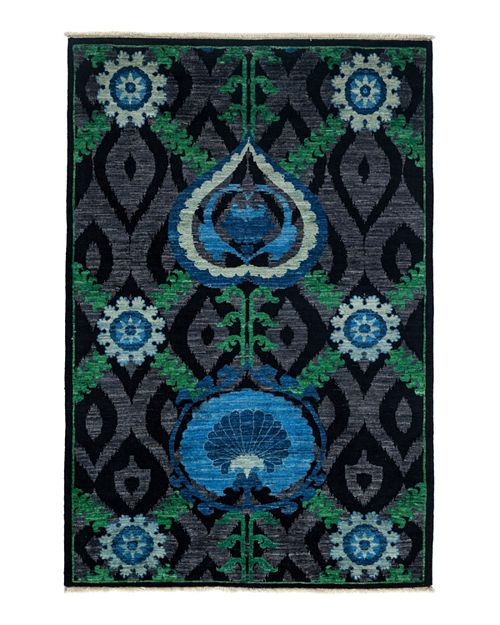 """Bloomingdale's - Suzani Collection Oriental Rug, 4'2"""" x 6'1"""""""