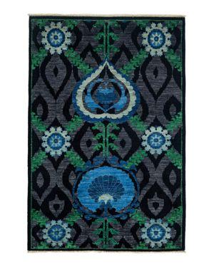Suzani Collection Oriental Rug, 4'2 x 6'1