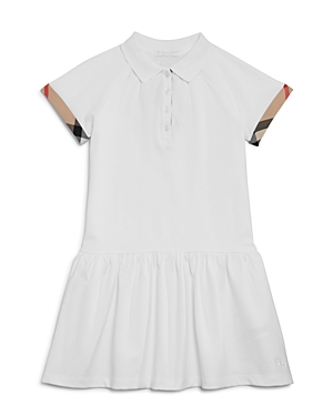 Burberry Girls Pique DropWaist Polo Dress  Big Kid