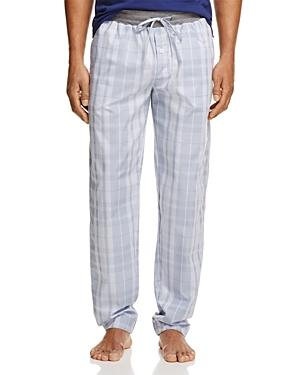 Hanro Harvey Woven Plaid Lounge Pants