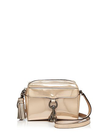 Rebecca Minkoff - MAB Patent Metallic Camera Bag