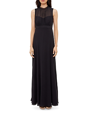 Ted Baker Ruffle Neck Gown