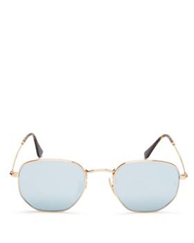 Ray-Ban - Unisex Mirrored Round Sunglasses, 54mm