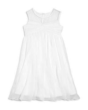 Us Angels Girls' Illusion Knot Front Dress - Big Kid thumbnail