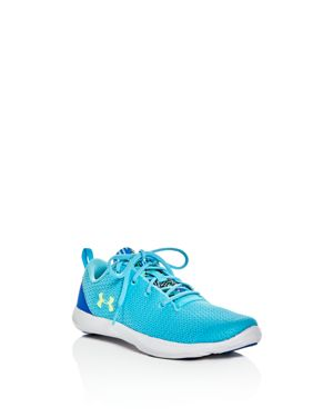 Under Armour Girls' Street Precision Sport Lace Up Sneakers - Toddler, Little Kid