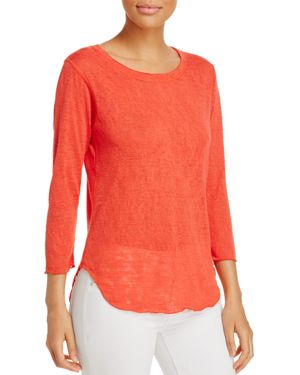 Nally & Millie Three-Quarter Length Sleeve Top