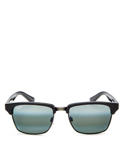 Maui Jim - Men's Kawika Polarized Square Sunglasses, 54mm