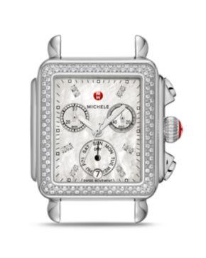 Michele Deco Diamond Watch Bloomingdales
