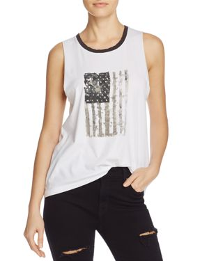 Nation Ltd Crescent Heights Flag Graphic Tank