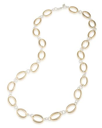 Ralph Lauren - Two-Tone Link Necklace, 36""