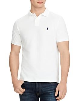 Polo Ralph Lauren - Cotton Mesh Custom Slim Fit Polo Shirt