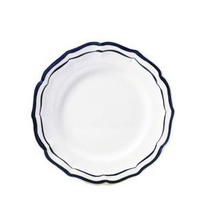 Gien Filet Bleu Indigo Salad Plate