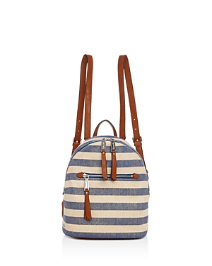 Splendid Park City Striped Mini Backpack