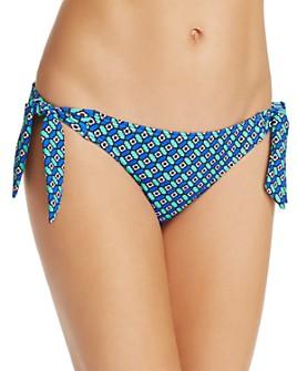 Echo - Villa Tile Side Tie Bikini Bottom