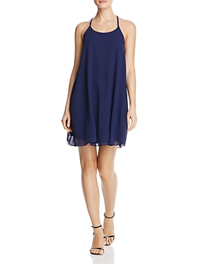 Aqua Braided Back Slip Dress - 100% Exclusive