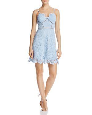 Aqua Lace Cami Dress - 100% Exclusive