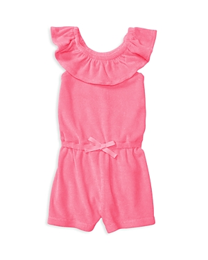 Ralph Lauren Childrenswear Girls' Terry Romper - Baby