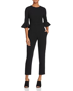 Black Halo - Brooklyn Flared-Sleeve Jumpsuit
