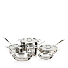 All-Clad Copper Core 10-Piece Cookware Set - Bloomingdale's_0